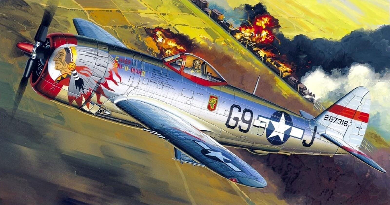 Republic P-47 Thunderbolt wallpapers HD quality