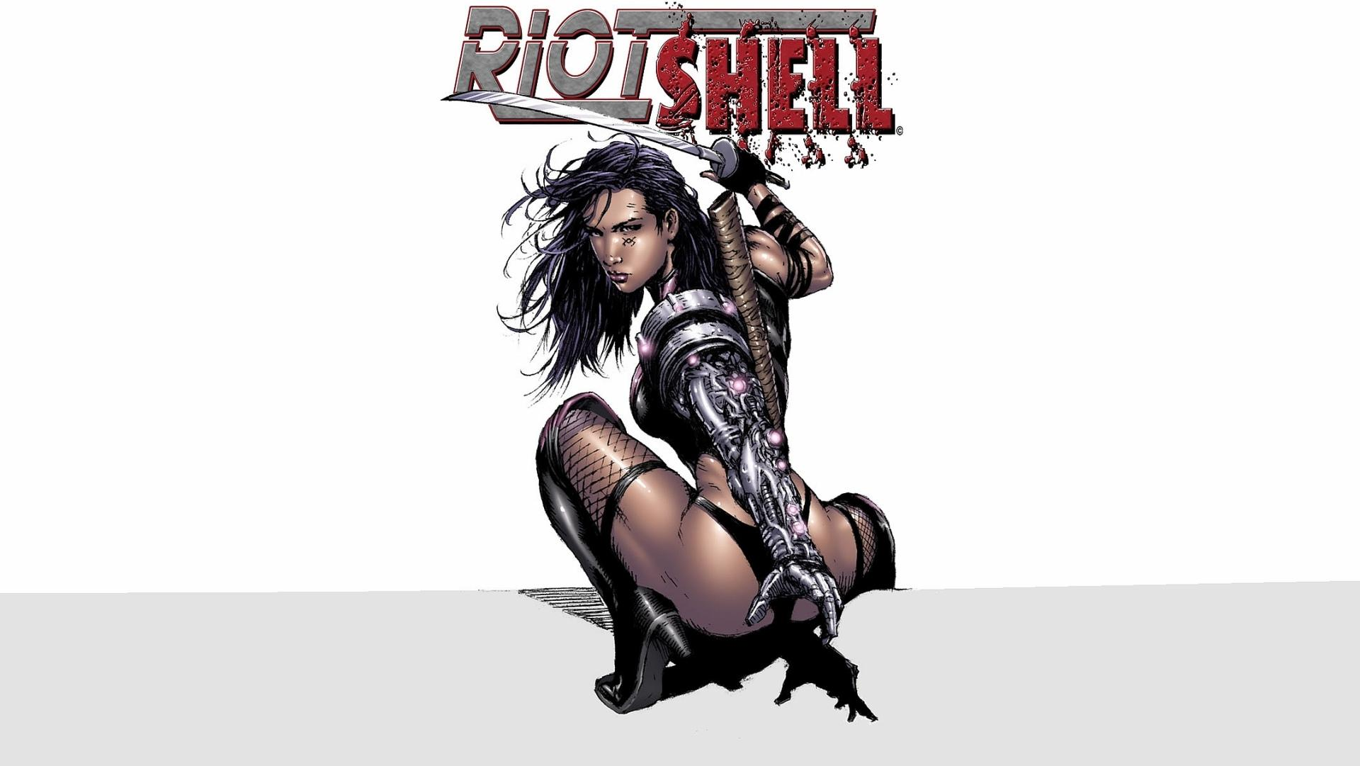Riot Shell wallpapers HD quality