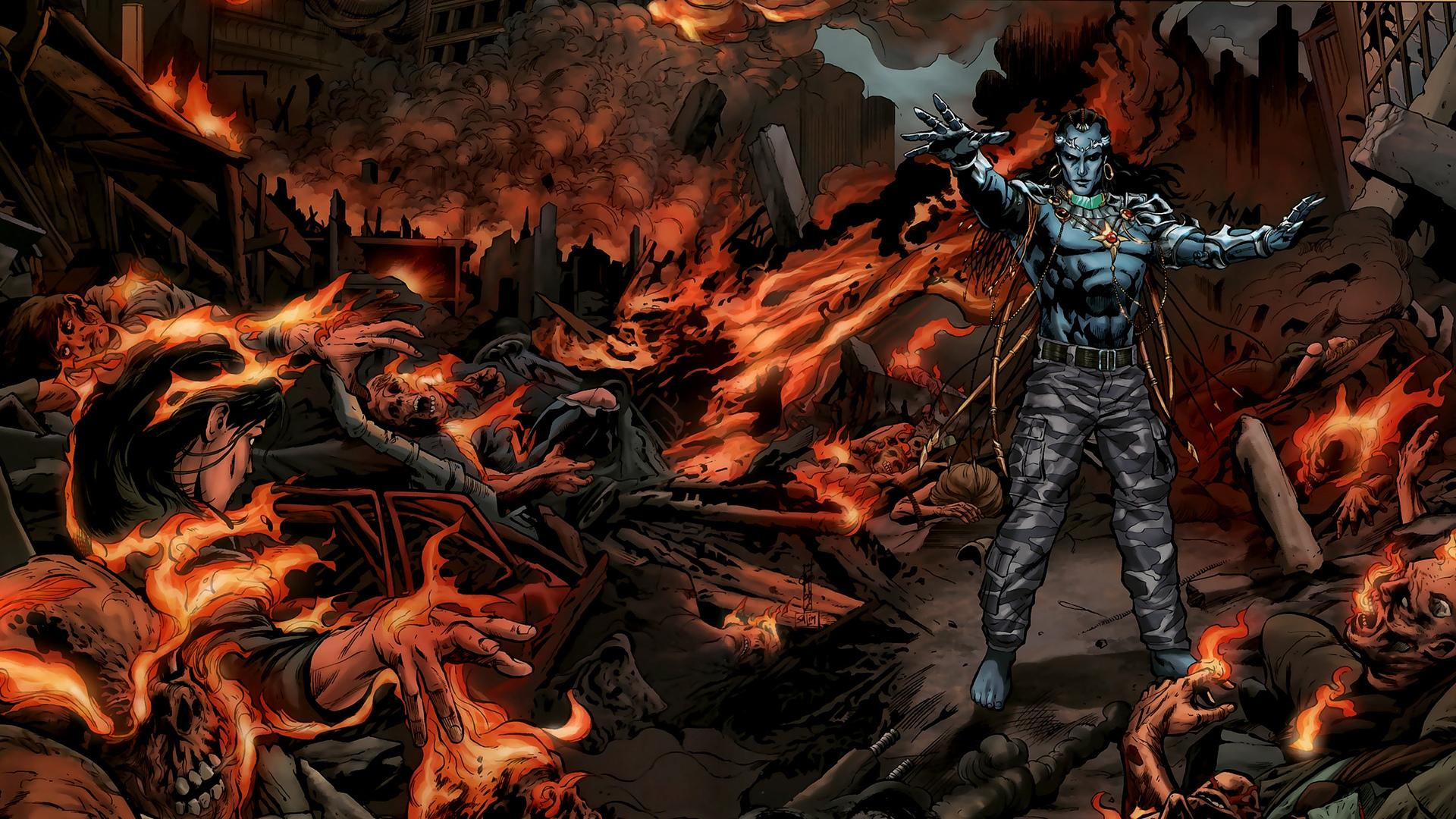 Supergod Comics wallpapers HD quality