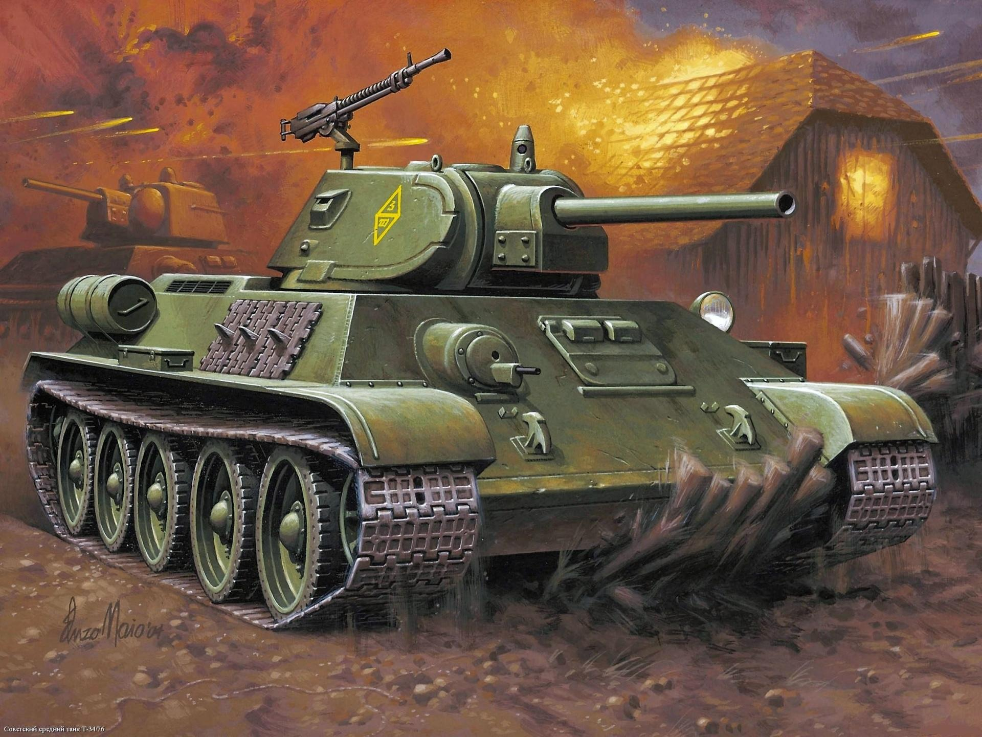 T-34 wallpapers HD quality