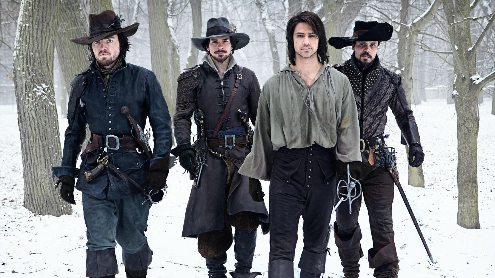The Musketeers wallpapers HD quality