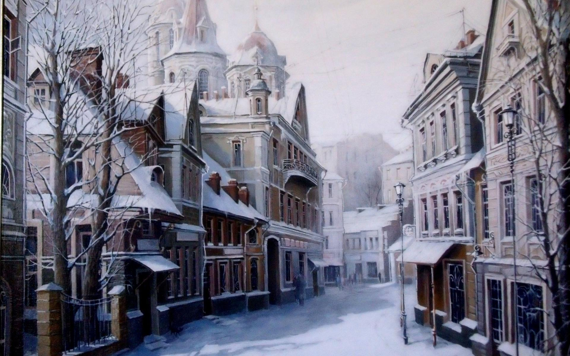 Town Artistic wallpapers HD quality