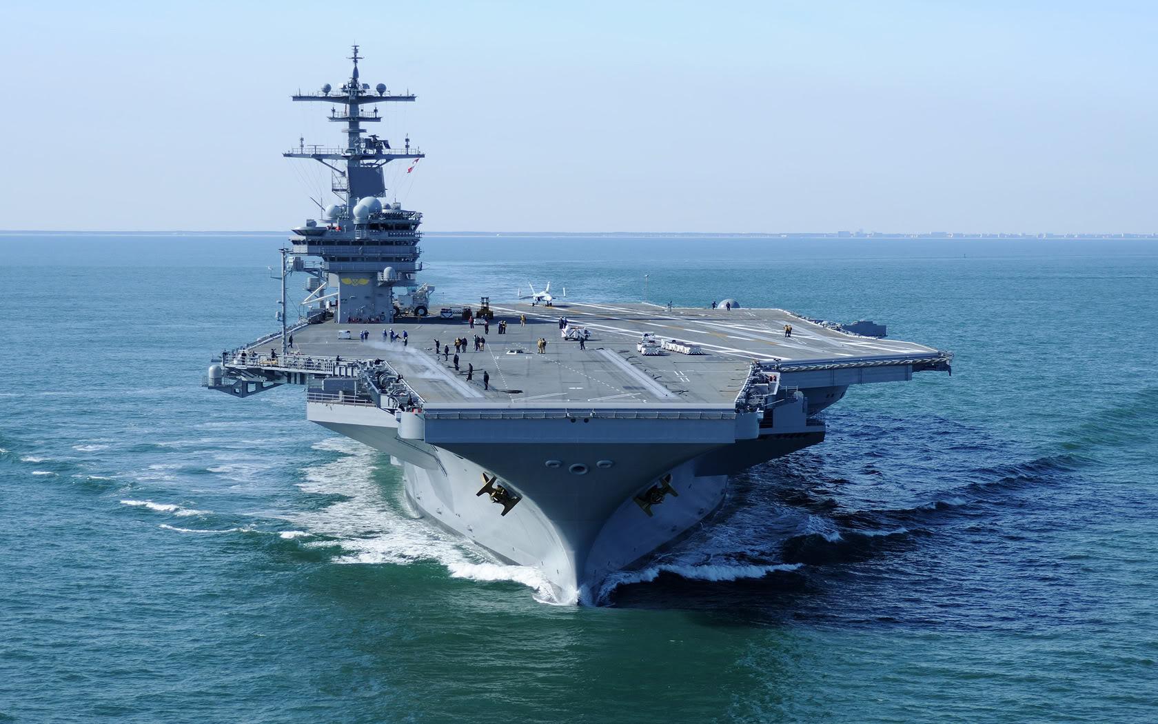 USS George H.W. Bush (CVN-77) wallpapers HD quality