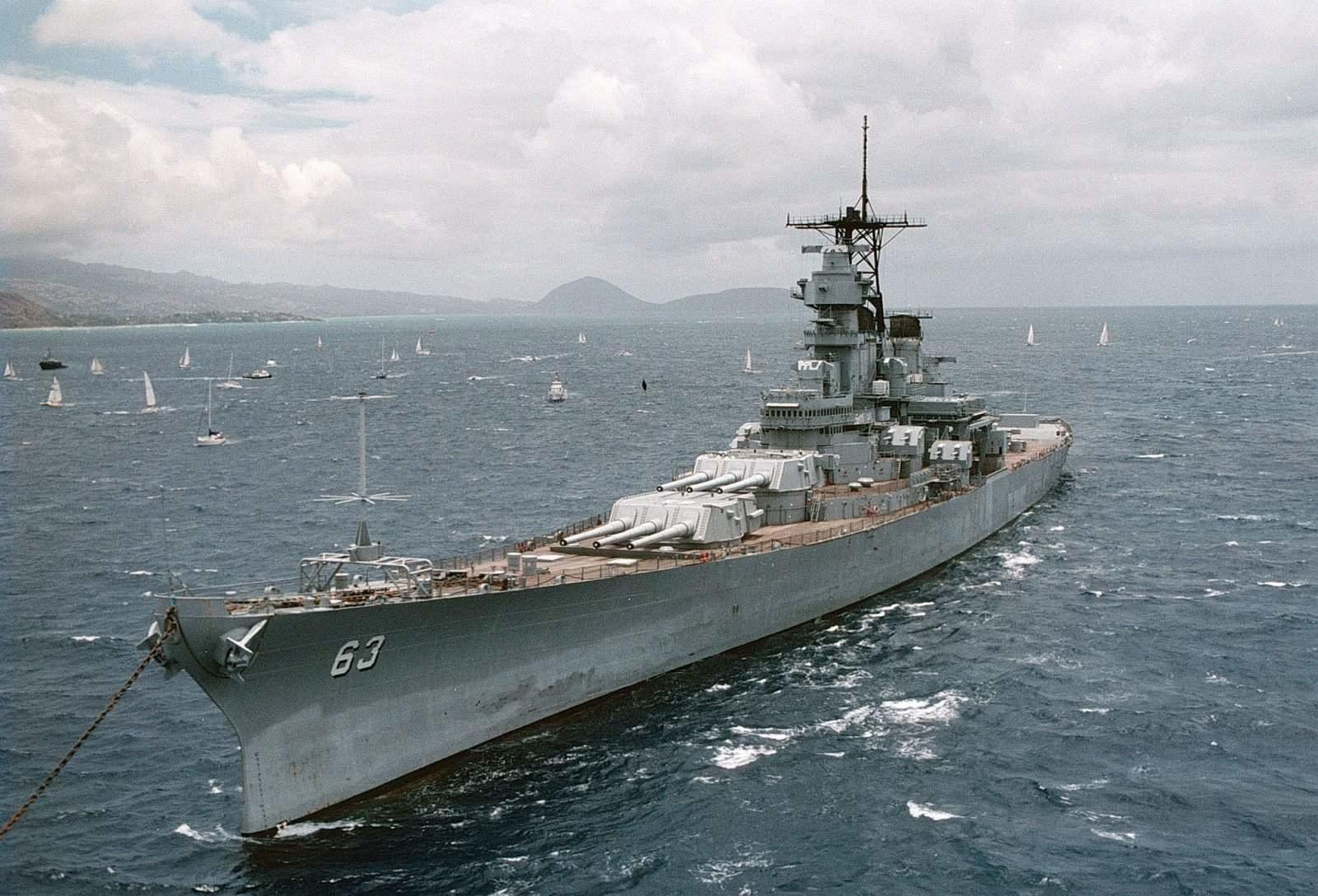 USS Missouri (BB-63) wallpapers HD quality