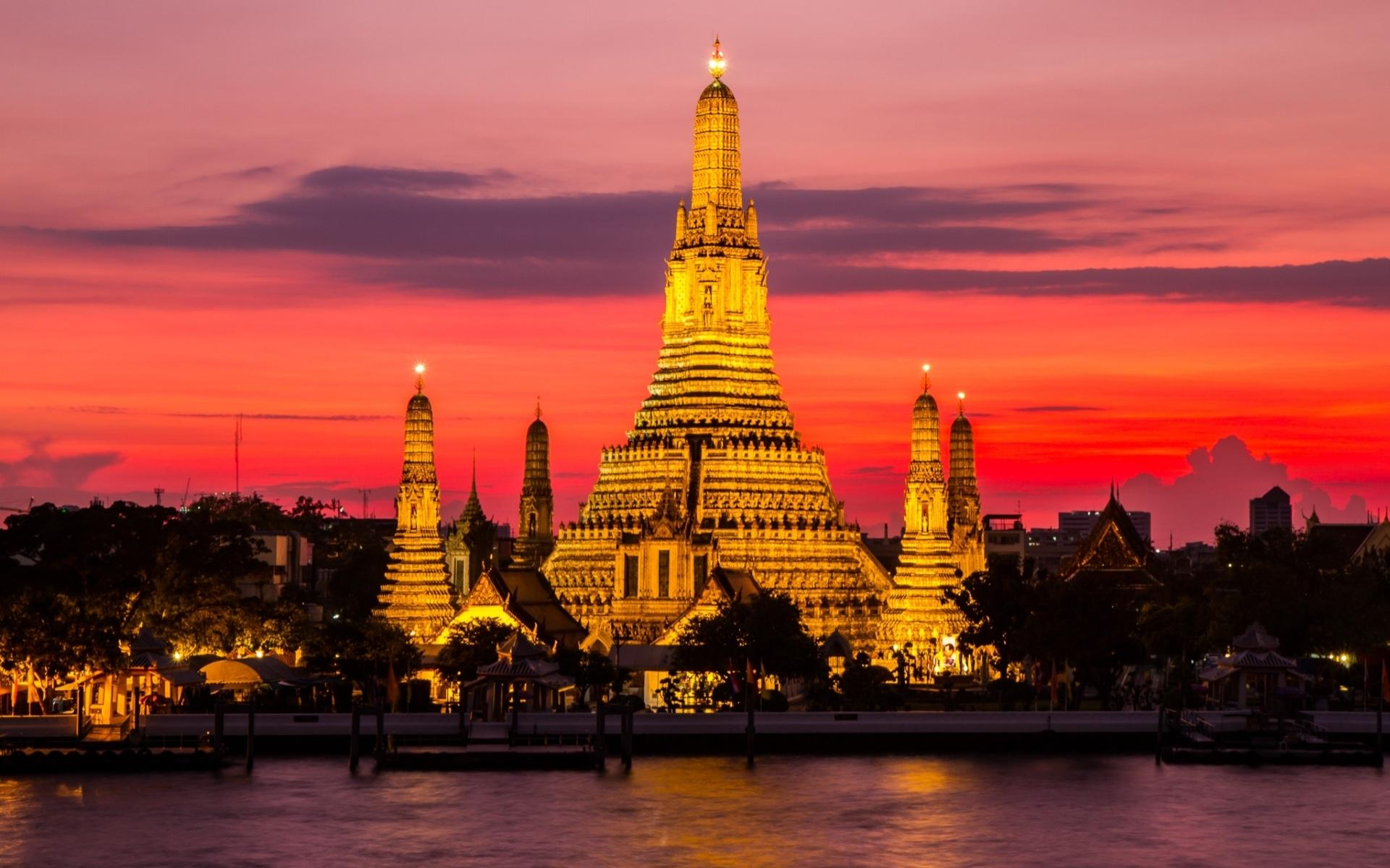 Wat Arun Temple wallpapers HD quality