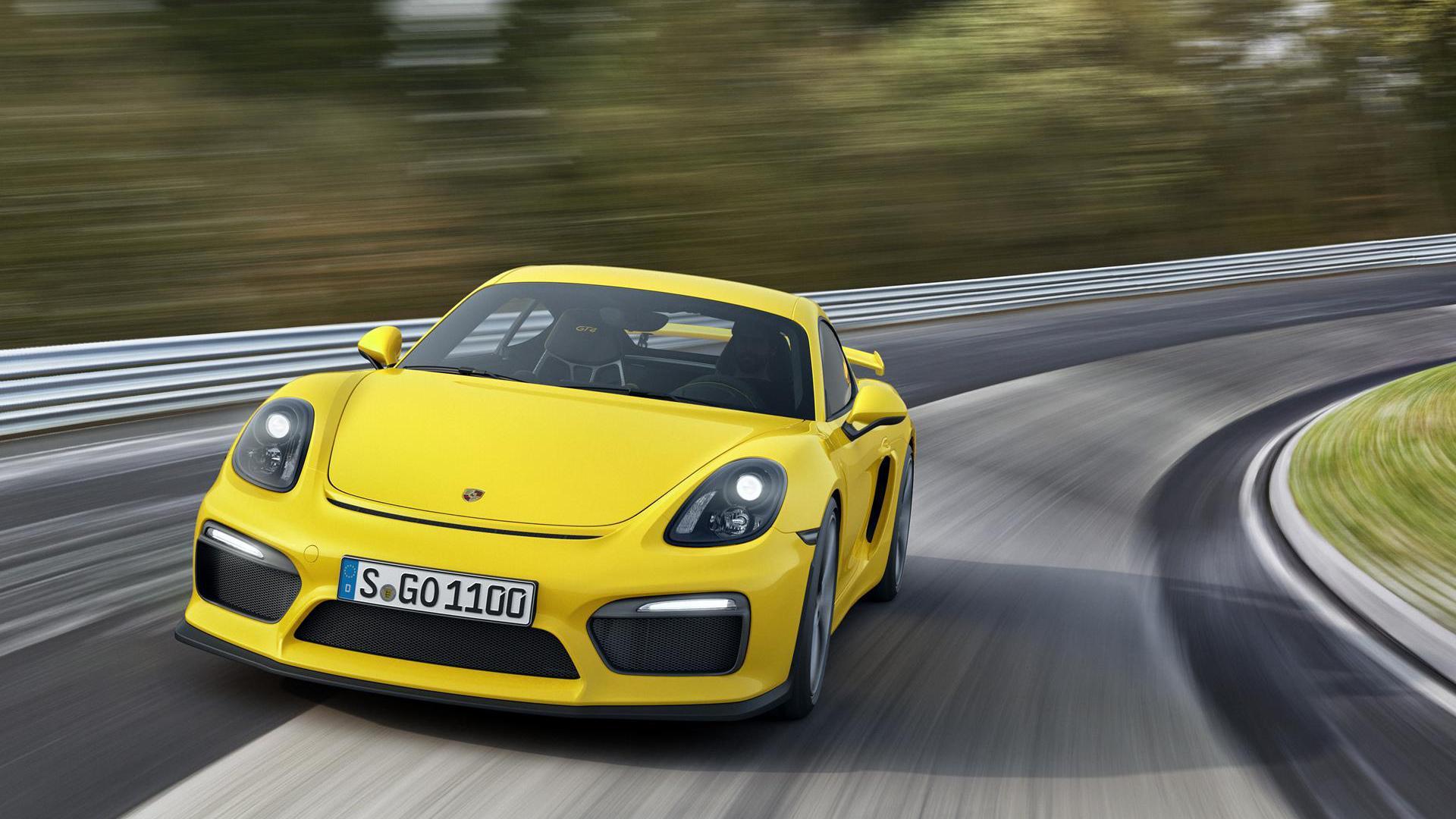 Cayman Gt4 Wall Paper: Porsche Cayman GT4 Wallpaper HD Download