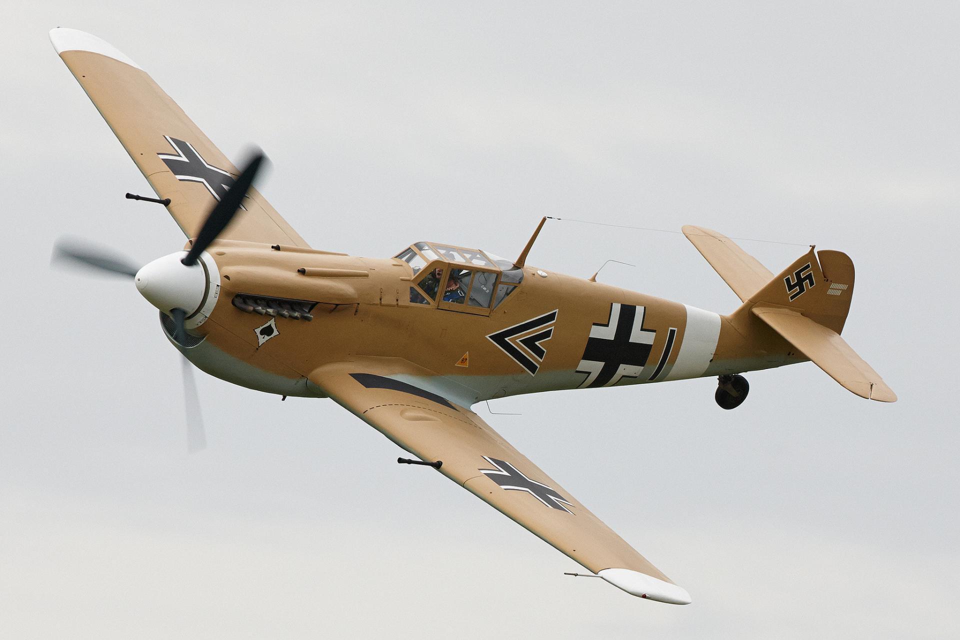 Messerschmitt Bf 109 Wallpaper HD Download