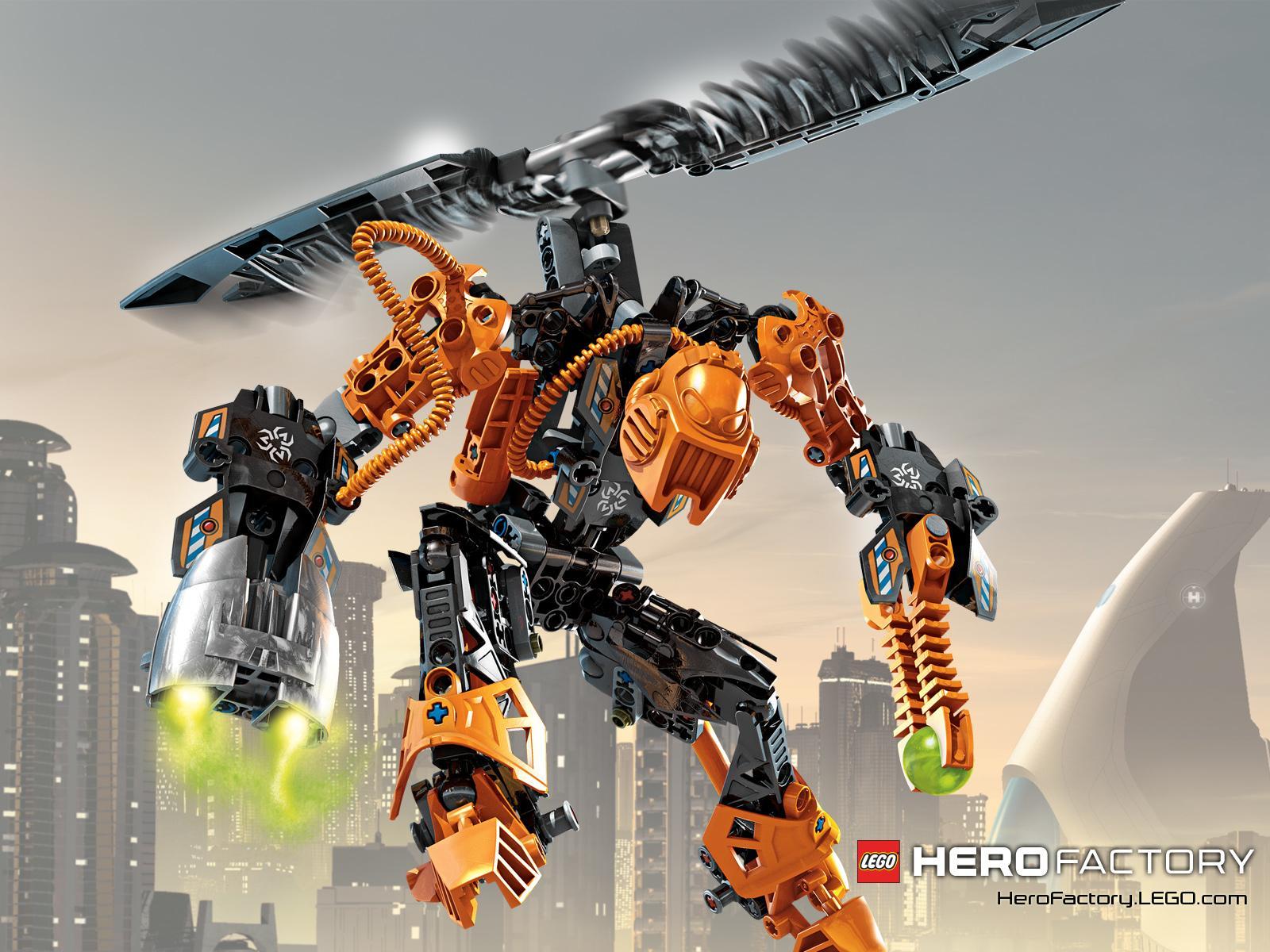 Lego Hero Factory Wallpaper HD Download