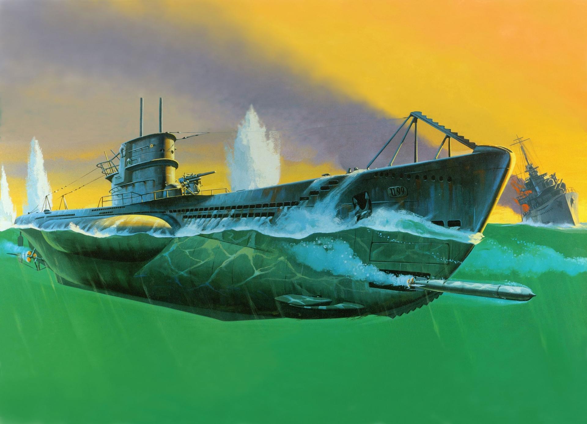 бои на подводных лодках