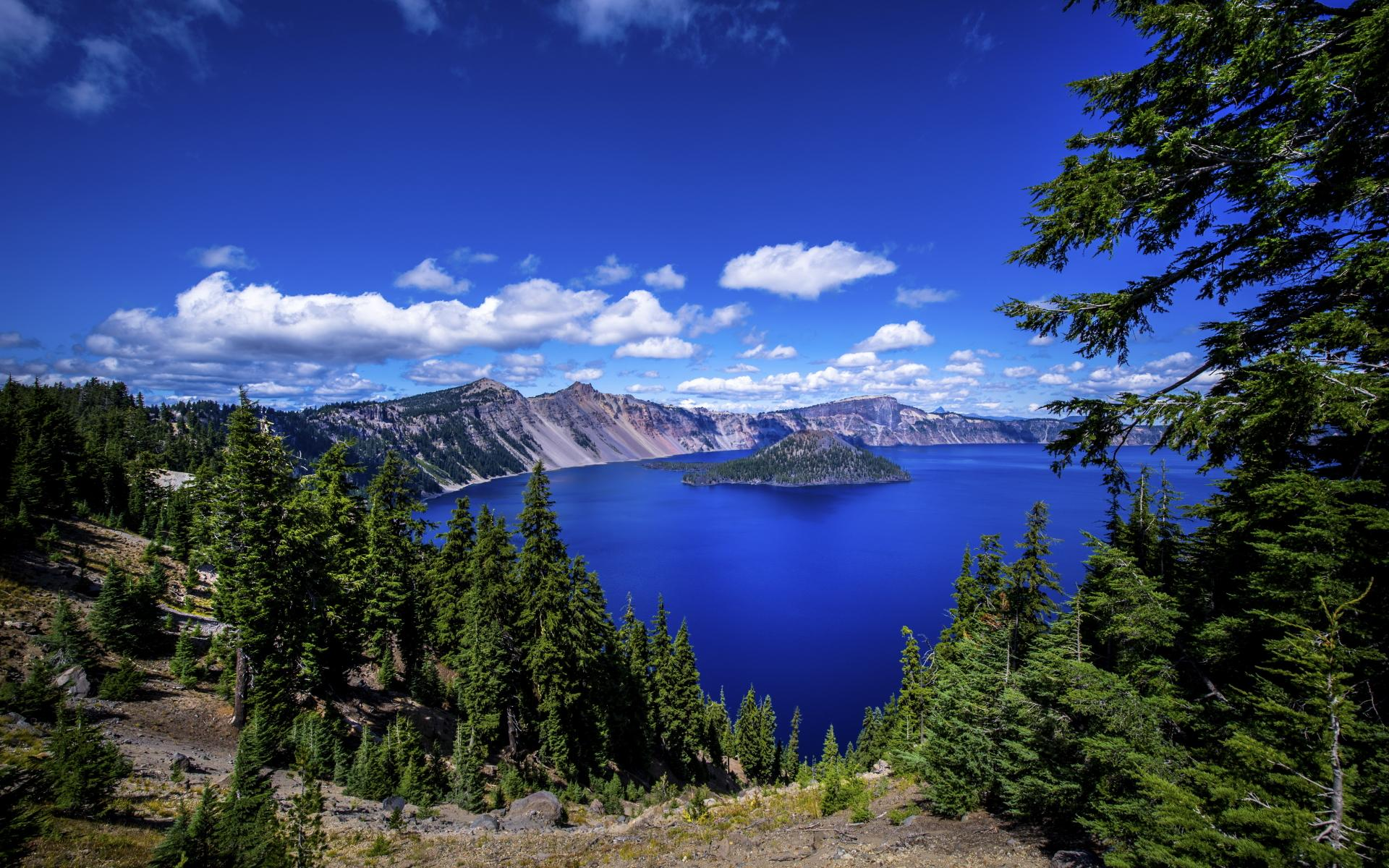 Oregon Wallpapers Hd: Crater Lake Wallpaper HD Download