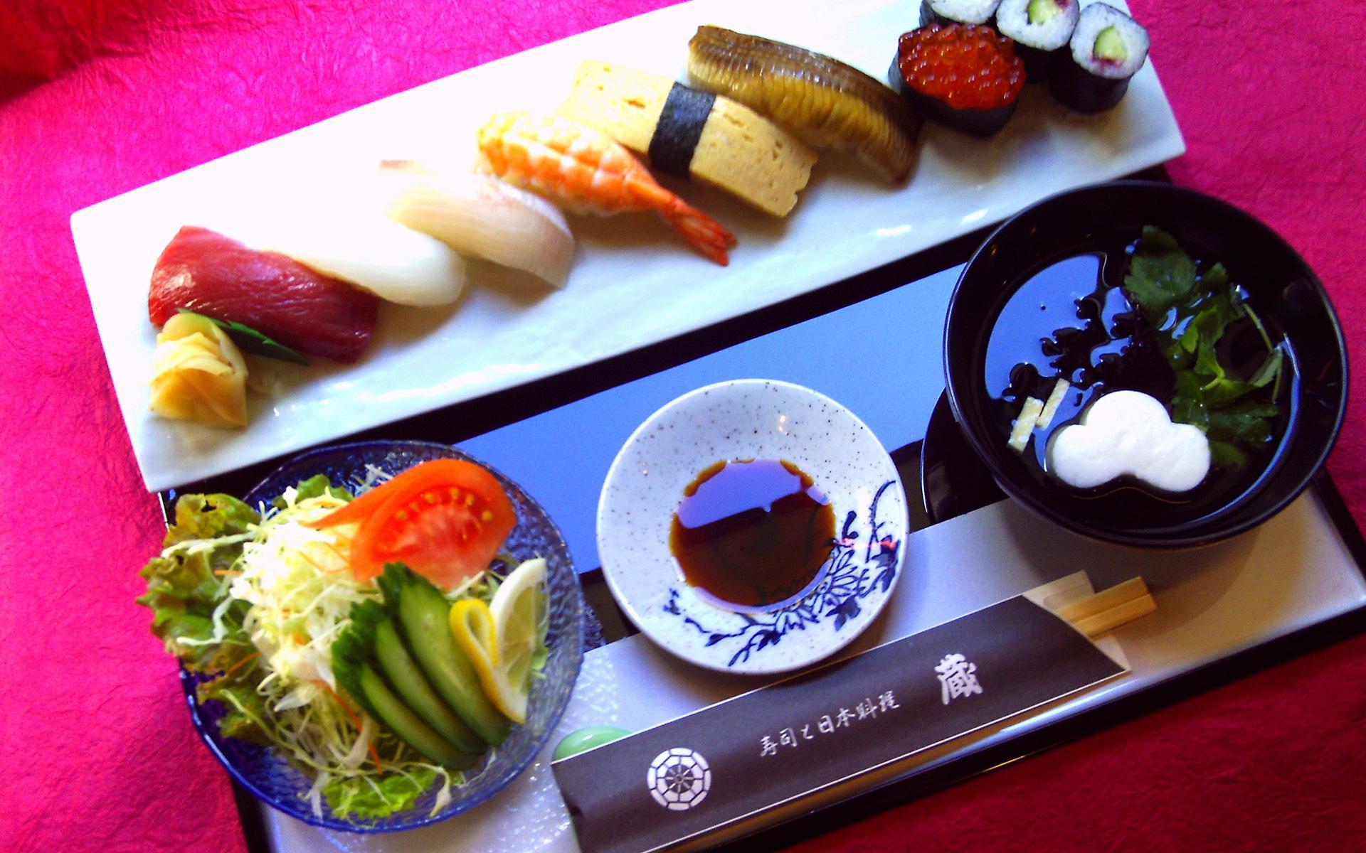 Японский завтрак бесплатно