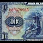 Deutsche Mark background