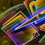 Neon Artistic hd desktop