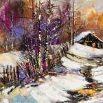 Winter Artistic wallpaper