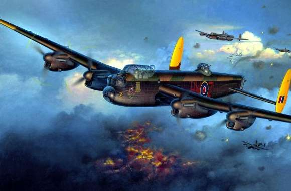 Avro Lancaster wallpapers hd quality