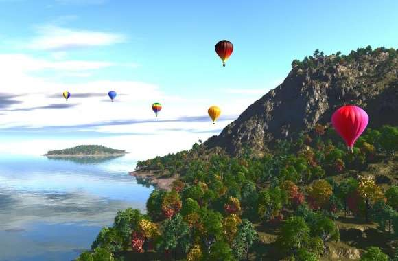 Balloon Artistic wallpapers hd quality