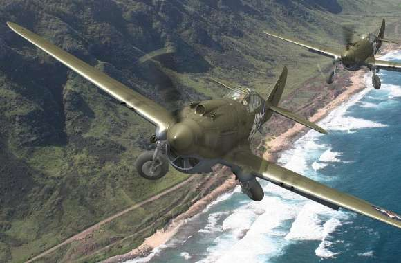 Curtiss P-40 Warhawk wallpapers hd quality