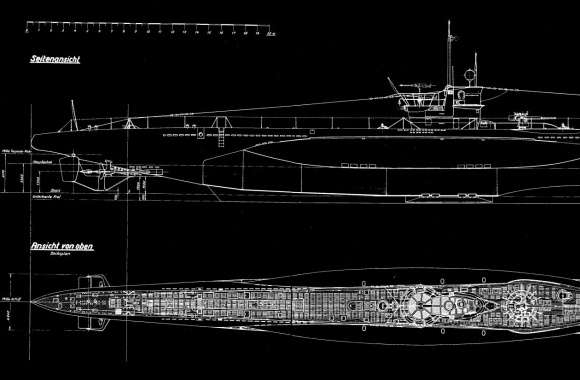 German Type VII Submarine