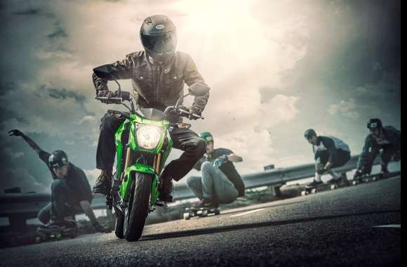 Kawasaki Z125 Pro wallpapers hd quality