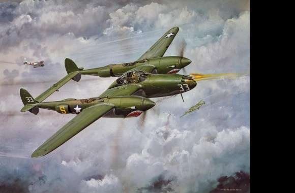 Lockheed P-38 Lightning wallpapers hd quality