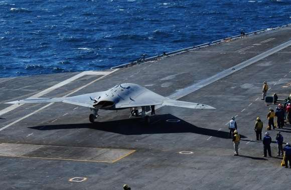 Northrop Grumman X-47B wallpapers hd quality