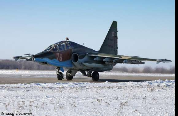 Sukhoi Su-25 wallpapers hd quality