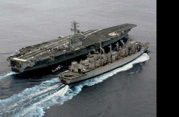 USS Nimitz (CVN-68) wallpapers hd quality