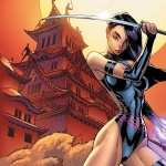 Psylocke Comics wallpaper