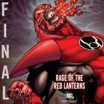 Red Lantern high quality wallpapers