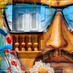 Graffiti Artistic widescreen