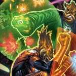 Green Lantern Corps download wallpaper
