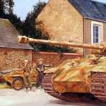 Panther Tank background
