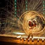 Fire Juggling wallpapers for iphone