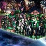 Green Lantern Corps background