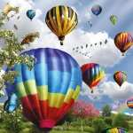 Balloon Artistic wallpapers for desktop