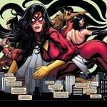 Spider-Woman Comics widescreen