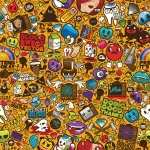 Sticker Bomb wallpapers for iphone