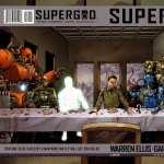 Supergod Comics background