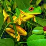 Red Eyed Tree Frog hd wallpaper