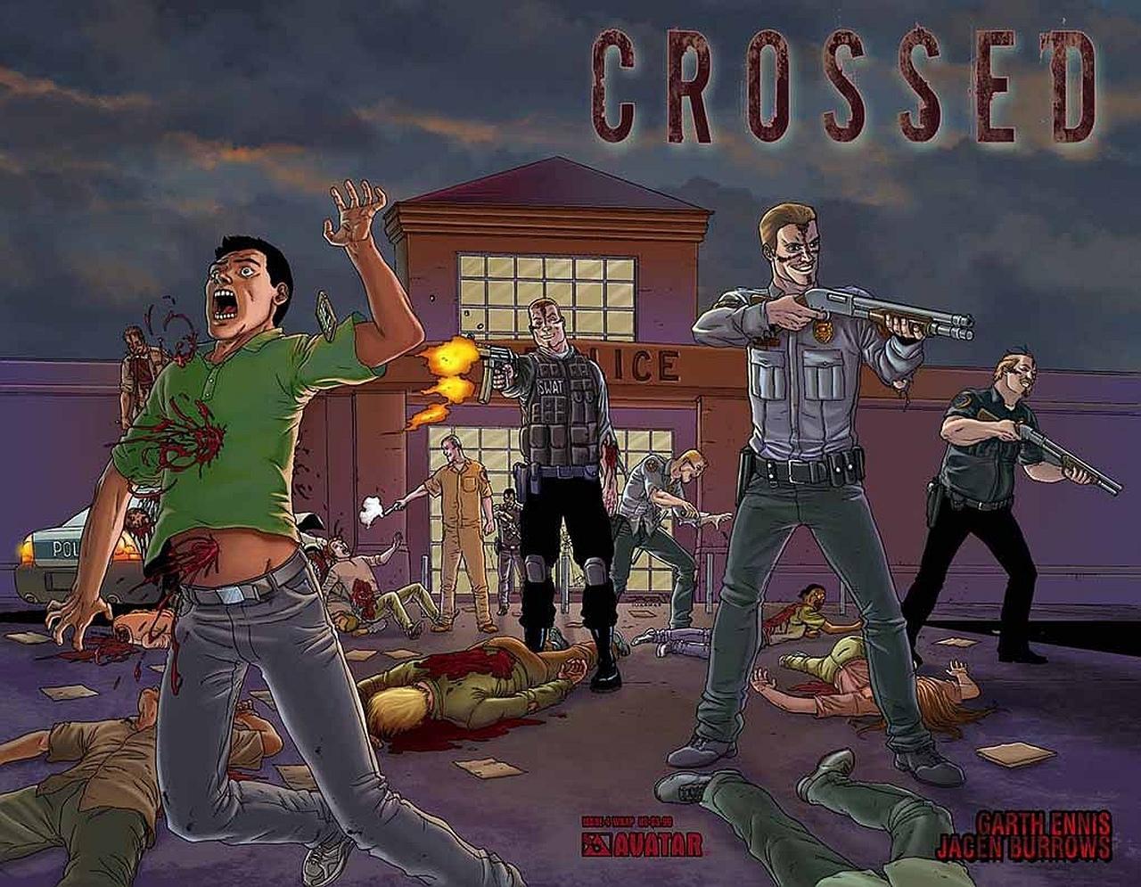 Crossed – Badlands   Viewcomic reading comics online for ...