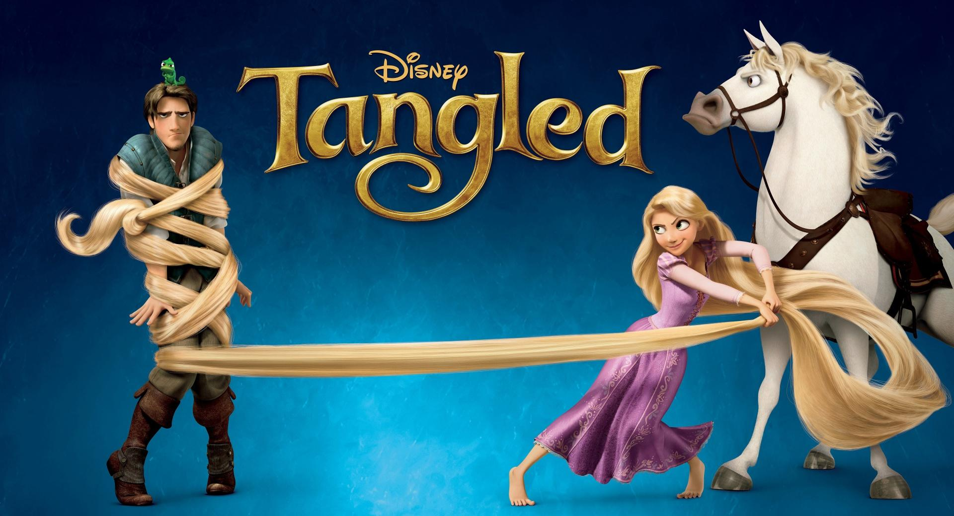 2010 Tangled Rapunzel, Flynn, Maximus wallpapers HD quality