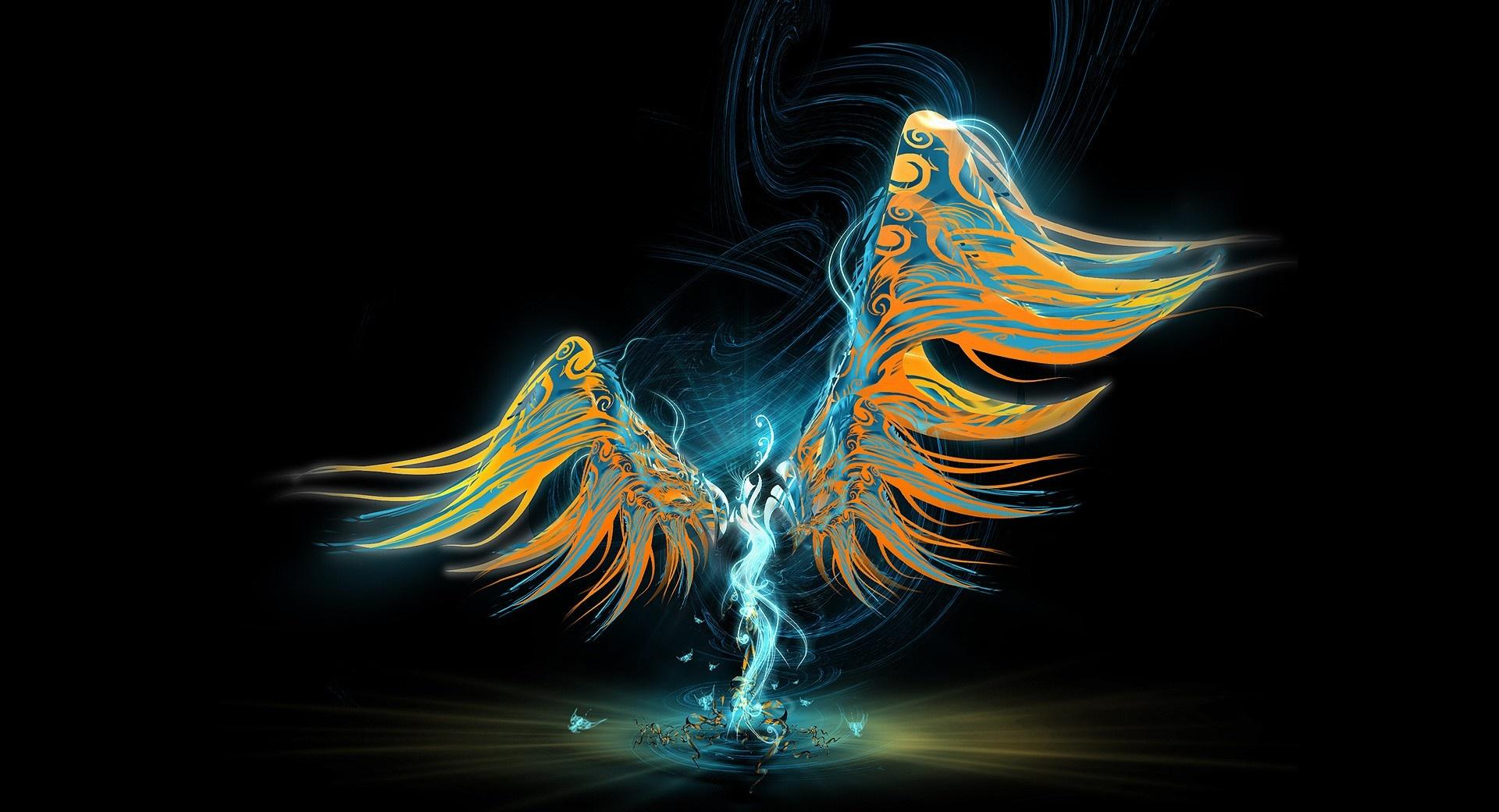 Abstract Angel wallpapers HD quality