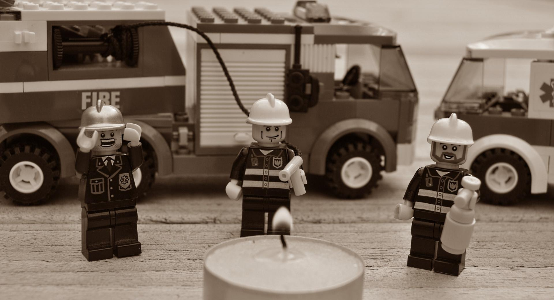 Always Trust The Lego Firemen wallpapers HD quality
