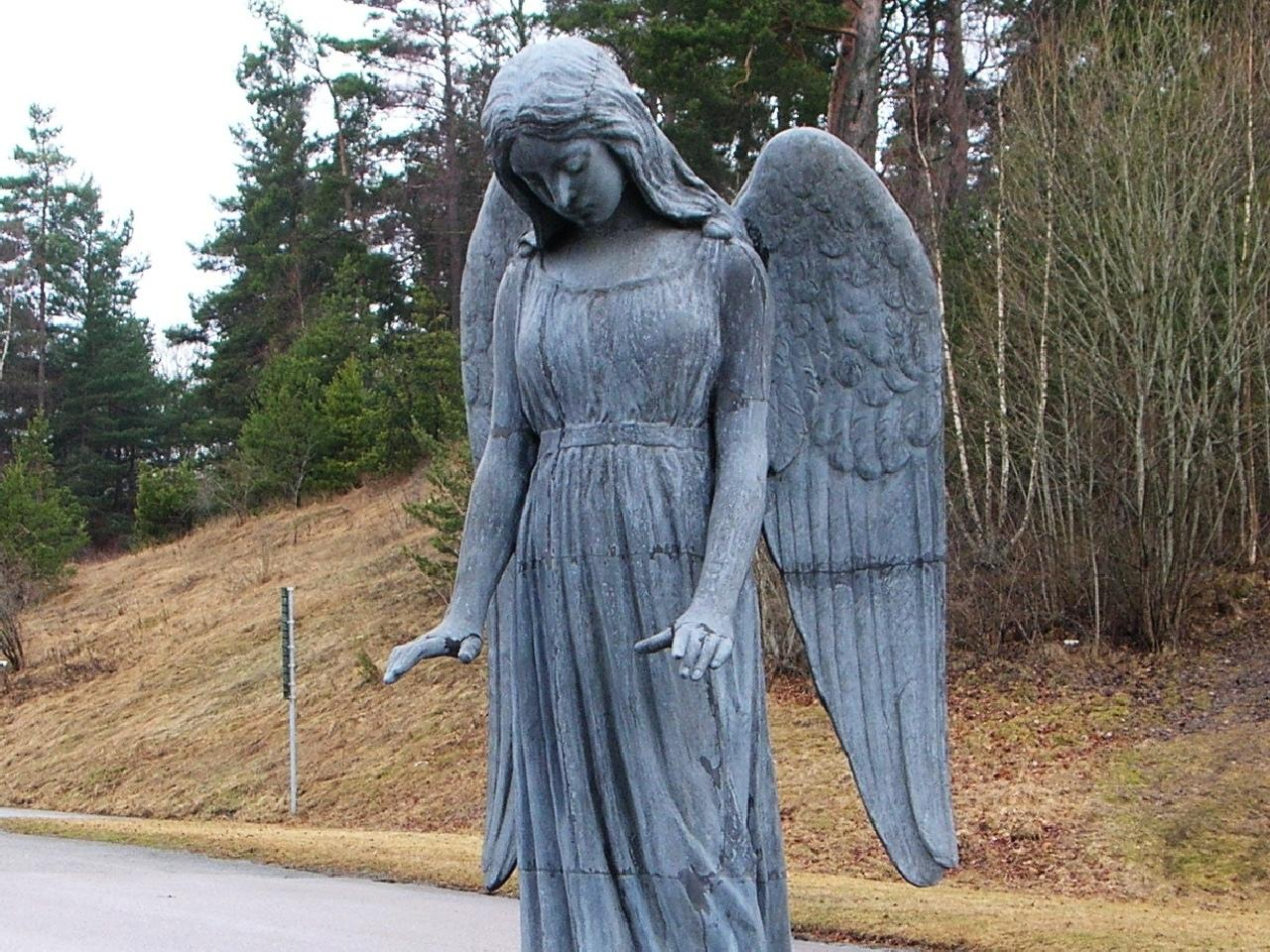Angel Statue wallpapers HD quality