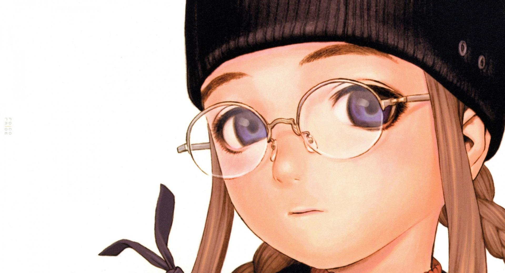 Anime Girl With Glasses wallpapers HD quality