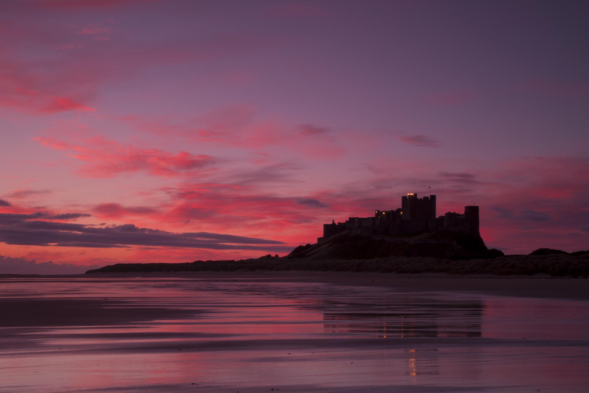 Bamburgh Castle wallpapers HD quality