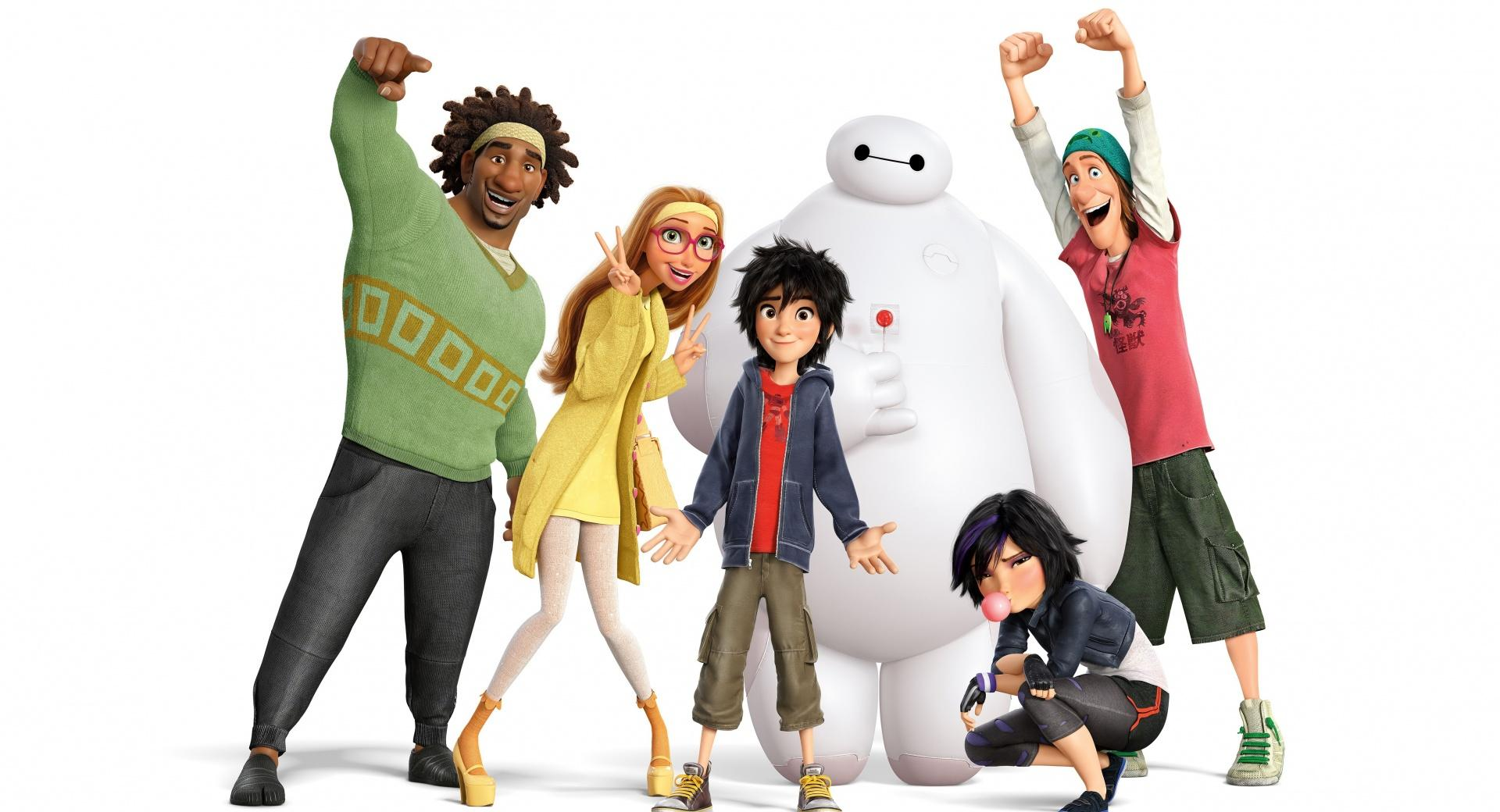 Big Hero 6 Characters wallpapers HD quality