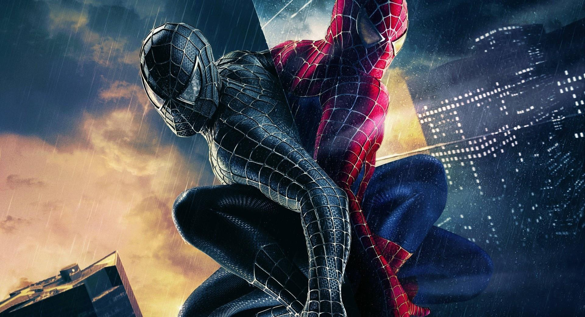 Black And Colored Spiderman wallpapers HD quality