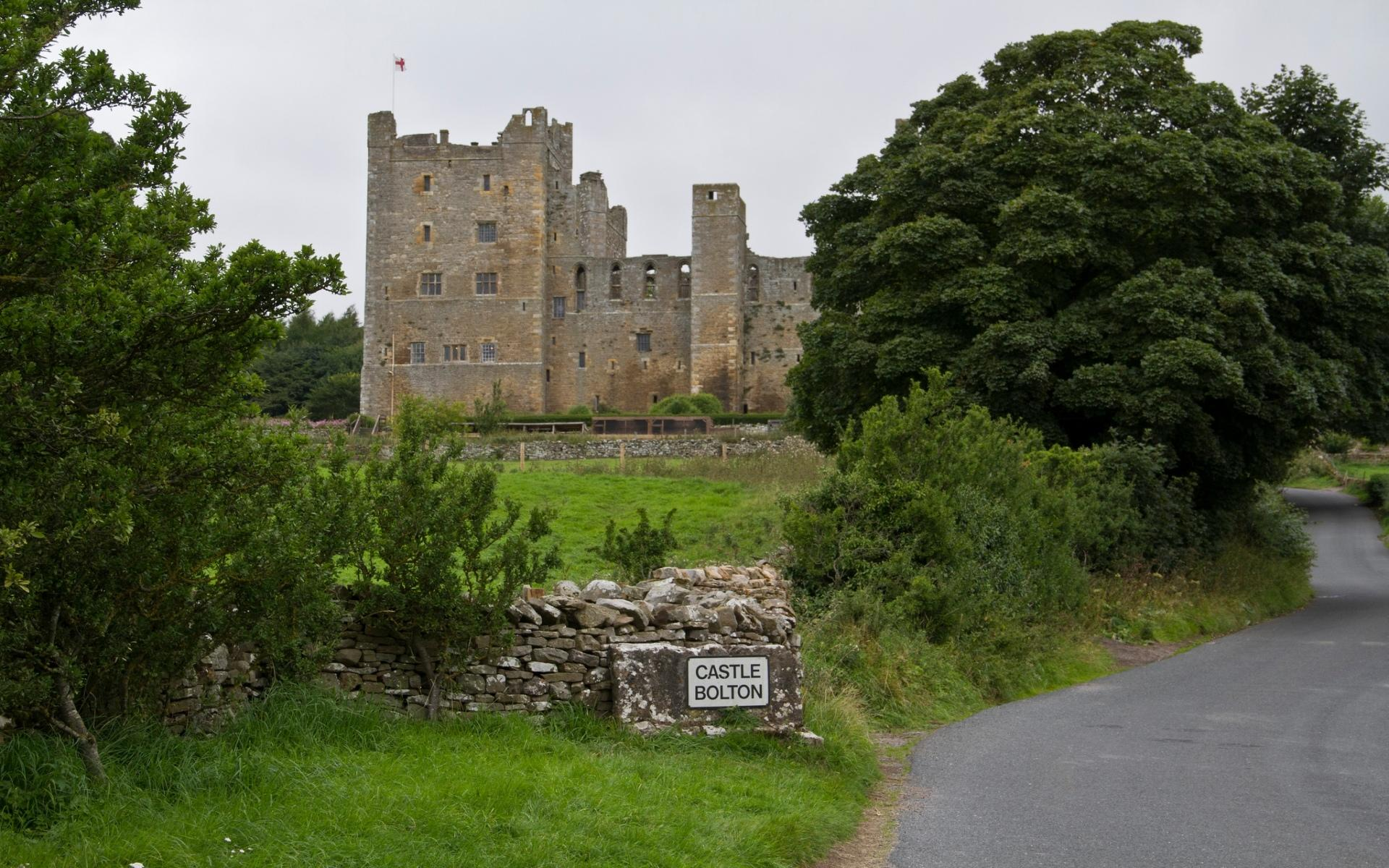Bolton Castle wallpapers HD quality