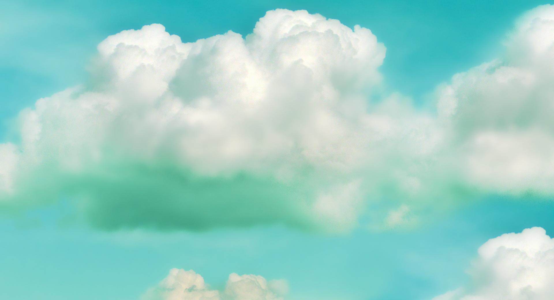Clouds Green wallpapers HD quality